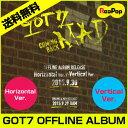 【予約9/29】【送料無料】GOT7 OFFLINE ALBUM RELEASE アルバム [MAD] ★ Horizontal / Verticalバージョンの選択!★【韓国音楽】【K-POP】【CD】
