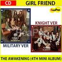 送料無料【2次予約】GFRIEND THE AWAKENING (4TH MINI ALBUM)★バージョン選択!★ミニアルバム4集 GIRL FRIEND【韓国音盤】【K-POP】【3.7発売】【3月末発送】