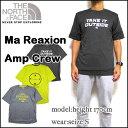 ノースフェイス Tシャツ メンズ THE NORTH FACE MA REAXION AMP CREW TEE ティーシャツ ロゴ