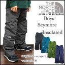 THE NORTH FACE/ザ・ノースフェイス/キッズ/スノーウェアー/中綿 パンツ/ジュニア/子供/BOYS INSULATED SEYMORE PANT/ボーイズ 05P03D..