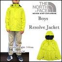 THE NORTH FACE/ザ・ノースフェイス/キッズ/マウンテンパーカー/ボーイズ リゾルブ ジャケット/ジュニア/子供/BOYS RESOLVE JACKET/イエロー/ウィンドブレーカー/レインコート