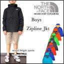 ノースフェイス キッズ マウンテンパーカー ジュニア BOYS ZIPLINE JACKET 男の子 THE NORTH FACE ジップライン 05P05Nov16