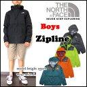 ノースフェイス キッズ マウンテンパーカー ジュニア BOYS ZIPLINE JACKET THE NORTH FACE ジップライン ジャケット 男の子 05P03Dec16
