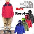 ノースフェイス キッズ マウンテンパーカー THE NORTH FACE ジャケット ジュニア BOYS RESOLVE REFLECTIVE JACKET レインウェアー P20Aug16