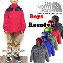 ノースフェイス キッズ マウンテンパーカー THE NORTH FACE ジャケット ジュニア 男の子 BOYS RESOLVE REFLECTIVE JACKET レインウェアー 05P03Dec16