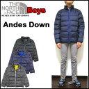 ノースフェイス ダウンジャケット キッズ Andes Down アウター 男の子 17秋冬 110c ...