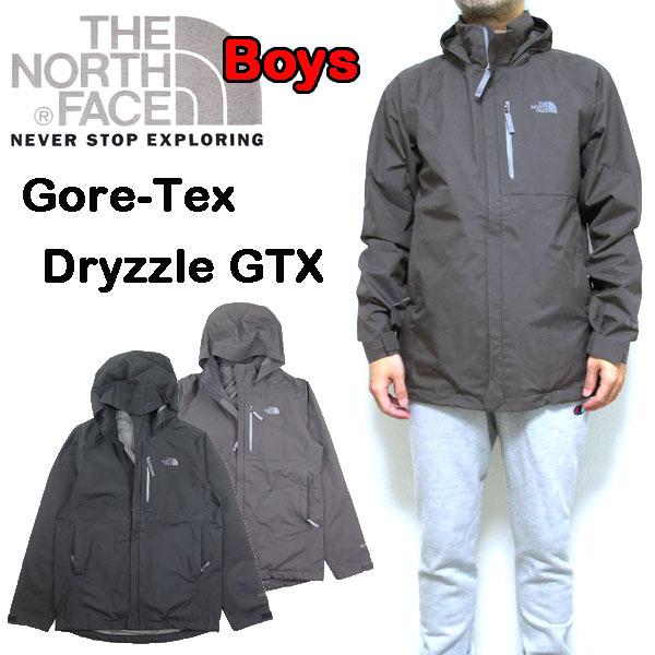 ノースフェイス THE NORTH FACE キッズ ジャケット ゴアテックス BOYS DRYZZLE GTX JACKET 防水 18FW新作 120 130 140 150 160 170cm