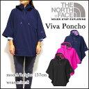 ノースフェイス レディース レインコート THE NORTH FACE VIVA PONCHO レインポンチョ 05P01Oct16