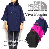 ノースフェイス レディース レインコート THE NORTH FACE VIVA PONCHO レインポンチョ 05P28Sep16