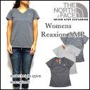 ノースフェイス/THE NORTH FACE/レディース/Tシャツ/速乾/Vネック/Reaxion Amp V-Neck T/ティーシャツ 05P03Dec16