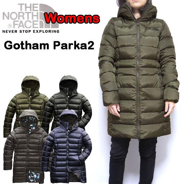 ノースフェイス THE NORTH FACE ダウンコート レディース Gotham Down Parka 2 防寒 アウター 18秋冬新作 XS S M L 迷彩 NF0A35BV