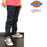 DICKIES/迪凯思/儿童/少年/孩子/QP801/skinny 裤子/BOYS SKINNY STRAIGHT PANT/藏青色/丝光卡其裤[DICKIES/ディッキーズ/キッズ/ジュニア/子供/QP801/スキニー パンツ/BOYS SKINNY STRAIGHT PANT/ネイビー/チノパン