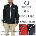 フレッドペリー/FRED PERRY/ジャージ/J3227 Single Tape Track Jacket/シングルテープ トラック ジャケット【1021fs4】【fs1023】