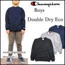 チャンピオン/スウェット/トレーナー/キッズ/Champion/USA/男の子/ジュニア/BOYS DOUBLE DRY ECO CREW/クルーネック 05P...