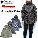 コロンビア Columbia レディース ジャケット Arcadia Print Jacket 迷彩 マウンテンパーカ レイン XS-L