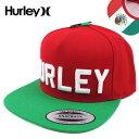 HURLEY/ハーレー/キャップ/メンズ/帽子/STADIUM REGIONAL CAP/スナップバック/メキシコ 05P03Dec16