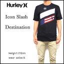 ハーレー Tシャツ メンズ ICON SLASH DESTINATION TEE HURLEY 国旗 ティーシャツ 05P03Dec16