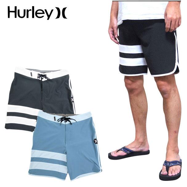 ハーレー HURLEY サーフパンツ メンズ BLOCK PARTY SOLID BOARD SHORT 水着 ボードショーツ ブロックパーティー 18インチ PHANTOM