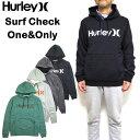ハーレー HURLEY パーカー スウェット メンズ Surf Check One Only プルオーバー 18FW新作 裏起毛 S M L XL AQ0773