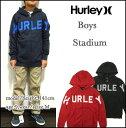 HURLEY/ハーレー/パーカー/キッズ/ボーイズ/子供/BOYS STADIUM ZIP HOOD/ジュニア/ジップフード【YDKG-m】