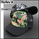 HURLEY ハーレー レディース キッズ メッシュ キャップ ONE&ONLY TRUCKER CAP 帽子 ハット