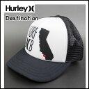 HURLEY ハーレー レディース キッズ メッシュ キャップ DESTINATION TRUCKER CAP 帽子 ハット