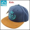 King Apparel/キッズ/スナップバック キャップ/ジュニア/子供/Kids First Guard Snapback Cap/ボーイズ/アジャスター/帽子 05P03Dec16