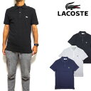 LACOSTE ラコステ ポロシャツ メンズ スリムフィット PH4012 Mens Slim Fit Pique Polo ビズポロ クールビズ 05P01Oct16