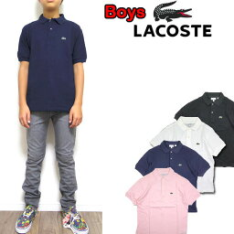 <strong>ラコステ</strong> キッズ <strong>ポロシャツ</strong> LACOSTE ボーイズ BOYS PIQUE POLO L1812 PJ2909 ジュニア レディース 120 130 140 150 160 170