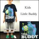 モンスターズインク/Tシャツ/キッズ/マイクとサリー/子供/KIDS Little Buddy T-shirt/ジュニア/子供/プリント ティーシャツ/キャラクター 05P03Dec16