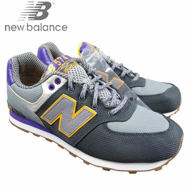 ニューバランス/NEW BALANCE/レディース/キッズ/スニーカー/KL574 E7G/ジュニア