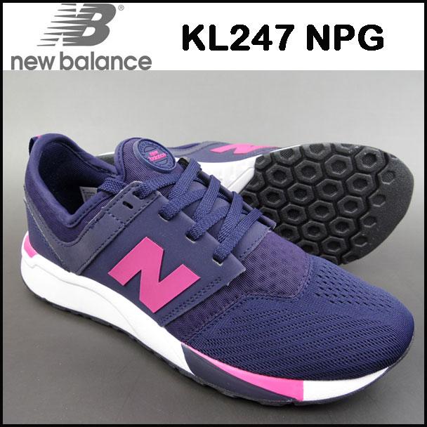 ニューバランス NEW BALANCE キッズ スニーカー KL247 NPG レディース USA