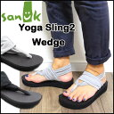 Sanuk サヌーク レディース 厚底 サンダル Yoga Sling 2 We...