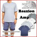 ノースフェイス/Tシャツ/メンズ/THE NORTH FACE/REAXION AMP CREW TEE/ティーシャツ/ロゴ 05P03Dec16