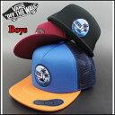 VANS バンズ キッズ メッシュ キャップ STAY CLASSIC TRUCKER CAP ジュニア トラッカー 帽子 VN-0NQWYB2 05P01Oc...