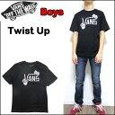 VANS バンズ キッズ Tシャツ BOYS TWIST UP TEE ボーイズ 男の子 ティーシャツ 半袖 120 130 140 150 160 170
