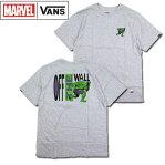 バンズ キッズ VANS マーベル Tシャツ 子供 BOYS HULK TEE ティーシャツ 半袖 120 130 140 150 160 170
