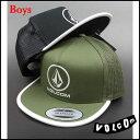 ボルコム キャップ VOLCOM キッズ ジュニア YOUTH BEACON CHEESE CAP キャップ スナップバック 帽子