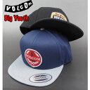 VOLCOM ボルコム キャップ キッズ 帽子 ジュニア YOUTH CRESTICLE CAP ボーイズ スナップバック
