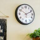 掛け時計 フランクリンクロック Franklin Clock 12BLQ インターゼロ INTERZERO ウォールクロック デザイン時計 壁掛け時計 クラッシックデザイン インダストリアル ビンテージ ヴィンテージ おしゃれ お祝い ギフト プレゼント 【送料無料】