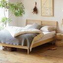 ベッド NOANA スタンダード セミダブルサイズ ゴールドプレミアム ポケットコイル マットレス付き 寝具 北欧 無垢材 ナチュラル 送料無料