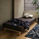 マットレスベッド シングル 脚付き マットレス付き ベッド Paula ロータイプ シンプル ナチュラル ヴィンテージ 即日出荷可能 送料無料
