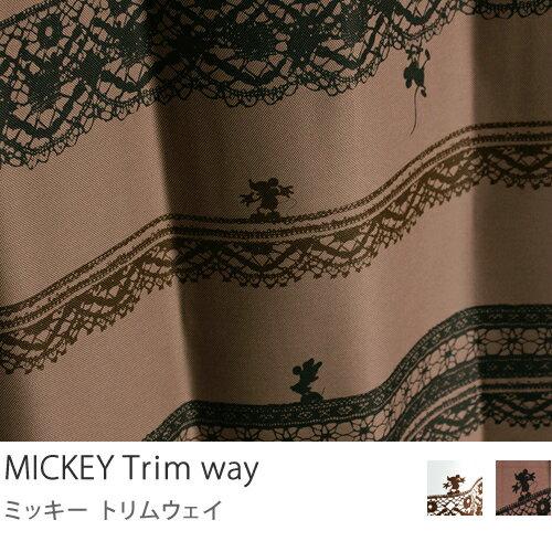 ディズニー ミッキー カーテン 遮光 ウォッシャブル 遮光 カーテン MICKEY Tri…...:receno:10004961