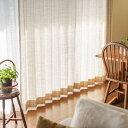 ドレープ カーテン Windowpen チェック柄 グレー 幅101~200cm オーダー 綿 麻 ポリエステル 日本製 北欧 ナチュラル おしゃれ