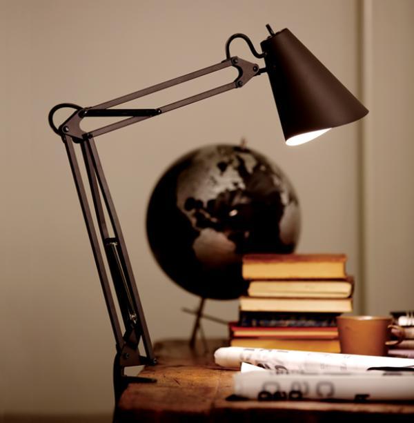 デスクランプ Snail desk arm light (LED電球タイプ)スネイルデスクアームライト 照明 AW0369E デスクライト あす楽対応