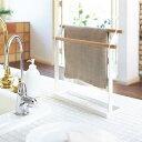 キッチン 収納 小物 布巾 ハンガー tosca トスカ 北欧 ナチュラル シンプル ホワイト 白