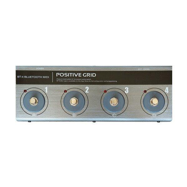 Positive Grid BT-4 (Bluetooth MIDI Pedal)