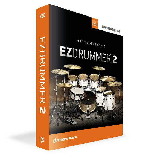 TOONTRACK EZ DRUMMER 2【本数限定特価】