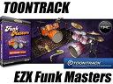 EZ Drummer拡張用ドラムキット、今度は「ファンク」!【新製品】TOONTRACK / EZX FUNK MASTERS
