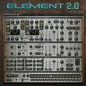 WAVES Element 2.0 Virtual Analog Synth(オンライン納品専用) ※代金引換はご利用頂けません。【SPD対象】【WAVES今月の目玉】